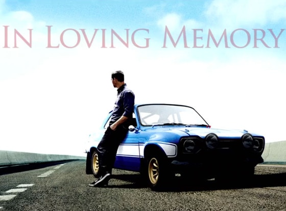 A Tribute to Paul Walker