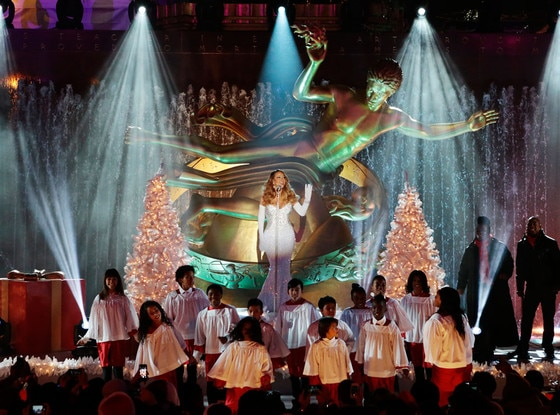 Christmas in Rockefeller Center, Mariah Carey
