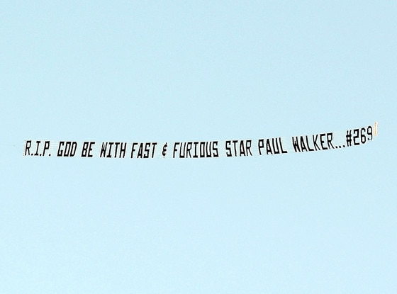 Paul Walker, Sky Sign