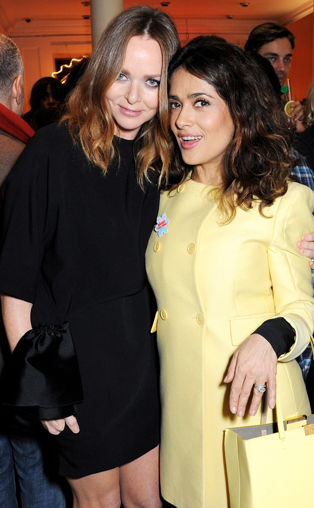 Stella McCartney, Salma Hayek