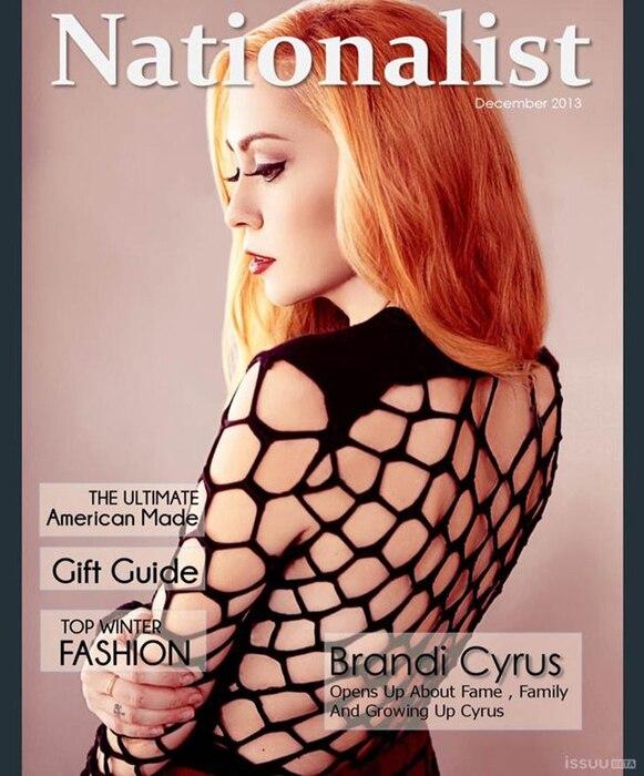 Brandi Cyrus, Nationalist