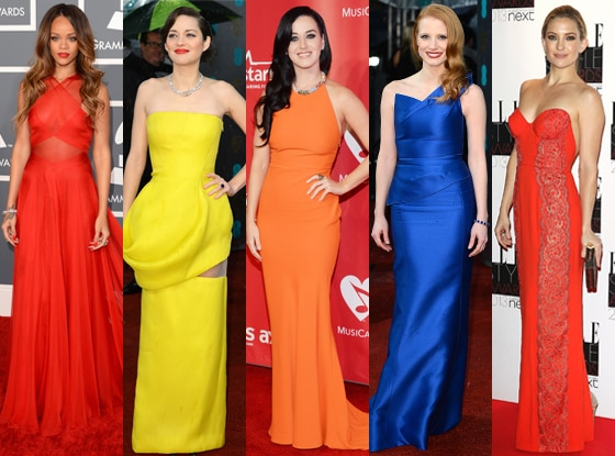 Rihanna, Jessica Chastain, Katy Perry, Kate Hudson, Marion Cotillard