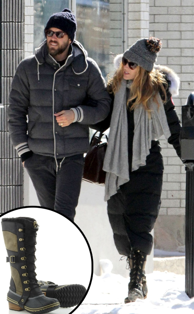 Ryan Reynolds, Blake Lively, Sorel Boots