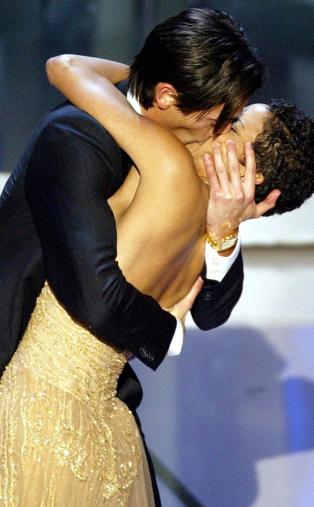 Adrien Brody, Halle Berry, 2003 Oscars