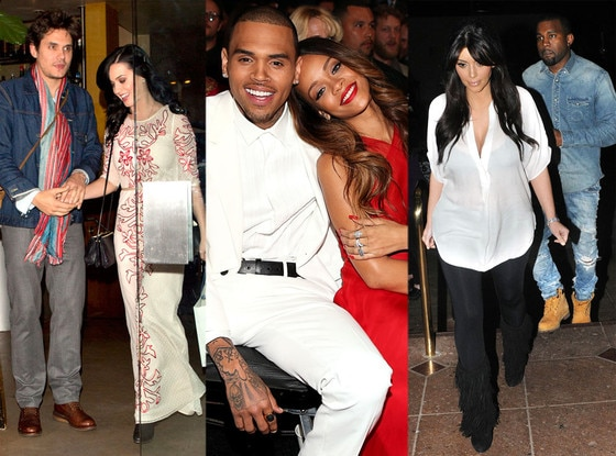 Week in Pics, John Mayer, Katy Perry, Chris Brown, Rihanna, Kim Kardashian, Kanye West