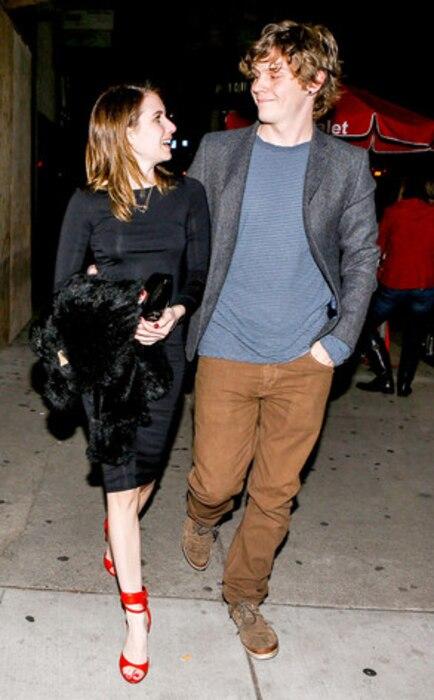 Emma Roberts, Evan Peters