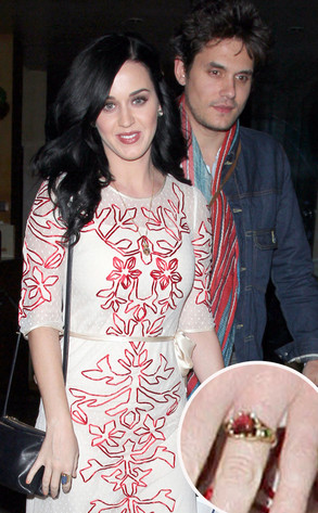 Katy Perry, John Mayer, Ring