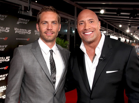 Paul Walker, Dwayne Johnson