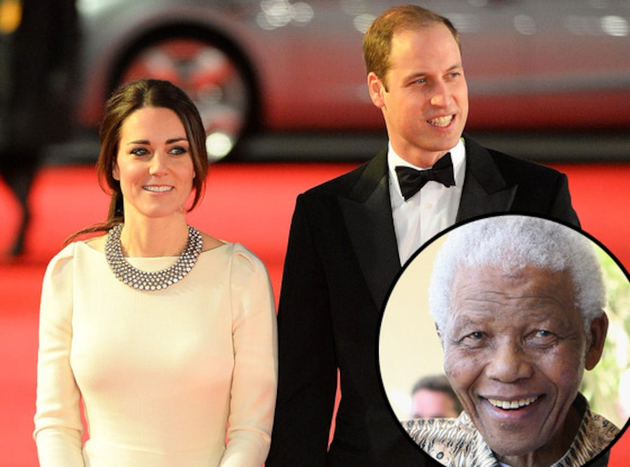 Catherine Duchess of Cambridge, Prince William, Kate Middleton, Nelson Mandella