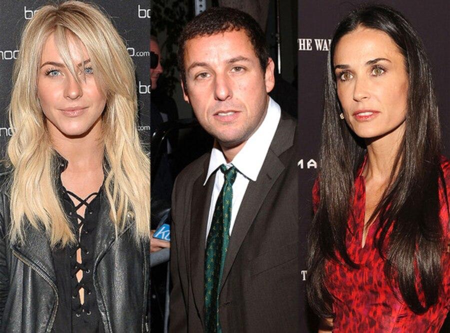 Adam Sandler, Demi Moore, Julianne Hough