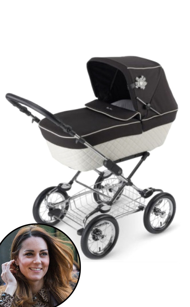 Catherine, Duchess of Cambridge, Kate Middleton, Silver Cross Sleepover Elegance Pram