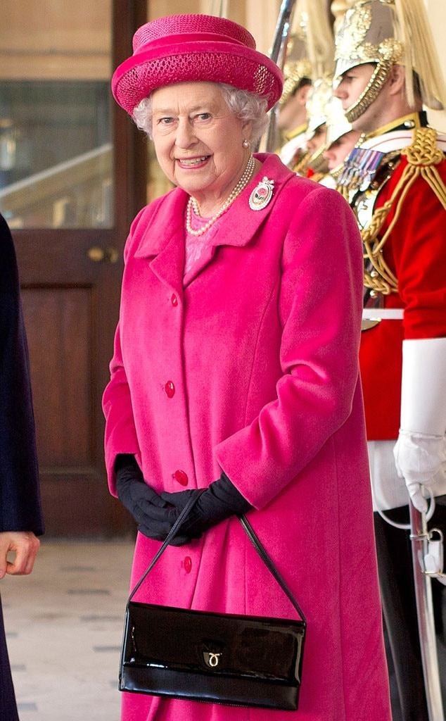 Queen Elizabeth II, Black Purse