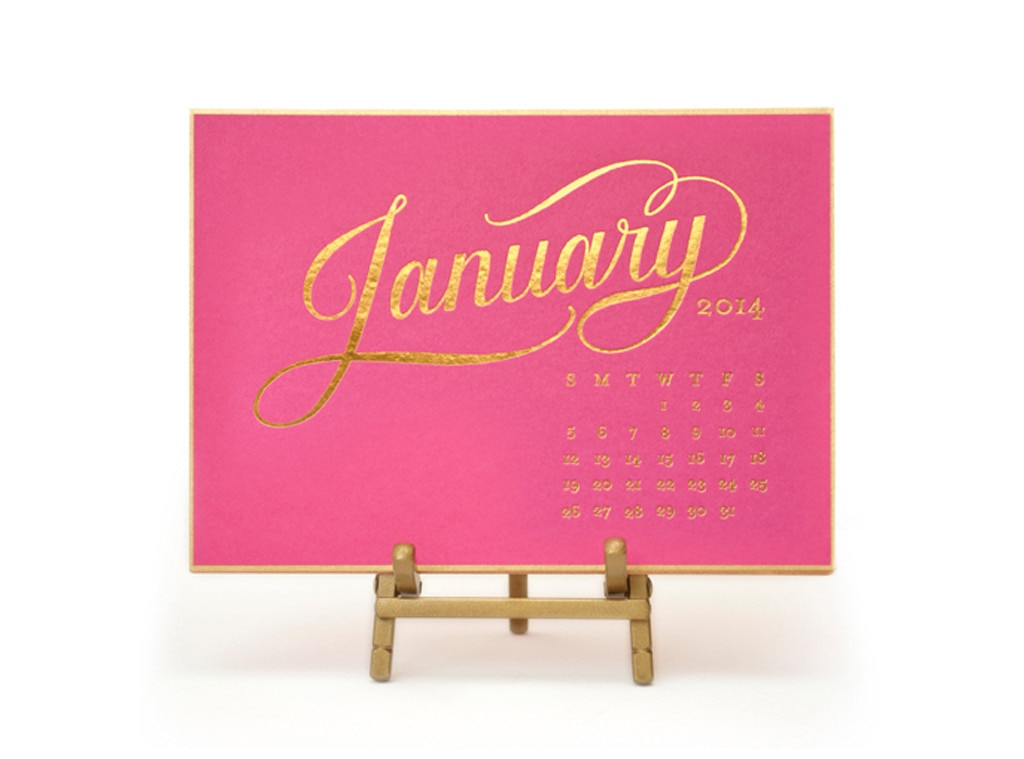 Last Minute Gift Guide, Calendar Cards