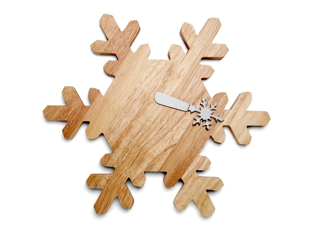 Last Minute Gift Guide, Snowflake Cheeseboard