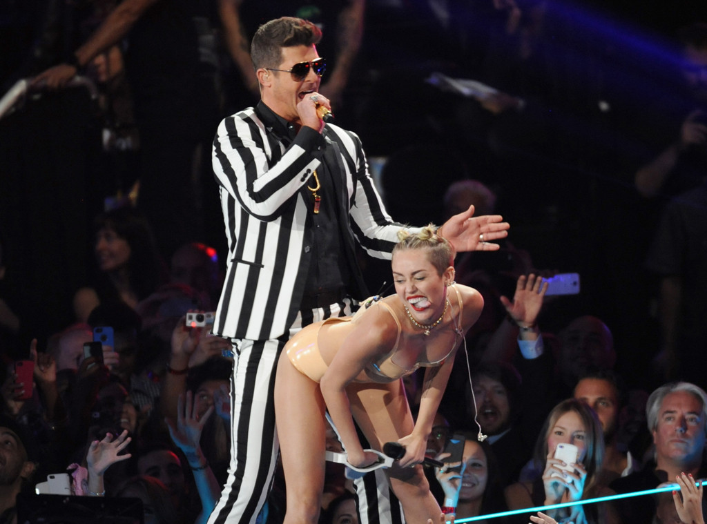 Robin Thicke, Miley Cyrus, VMA