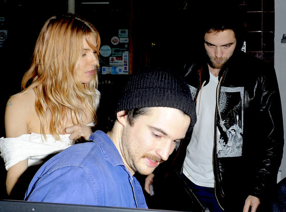 Sienna Miller, Tom Sturridge, Robert Pattinson