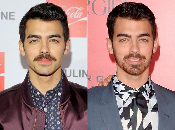 Joe Jonas, Mustache