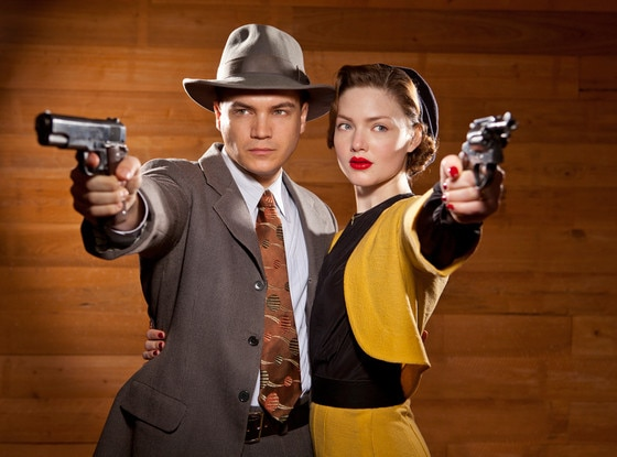 Bonnie and Clyde, Emile Hirsch, Holliday Grainger
