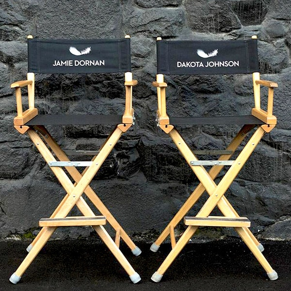Fifty, 50, Shades of Grey, Actor Chairs