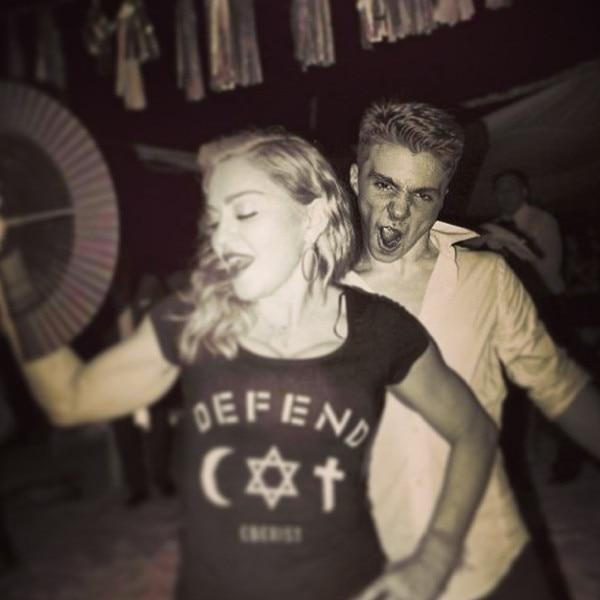 Madonna, Rocco Ritchie, Instagram
