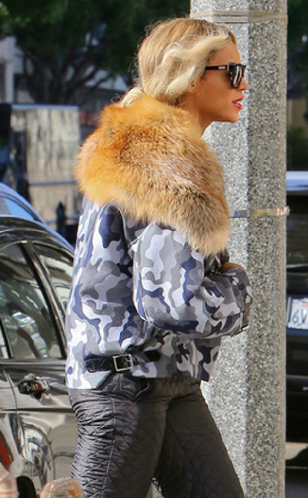 Beyonce, Fur, Vegan