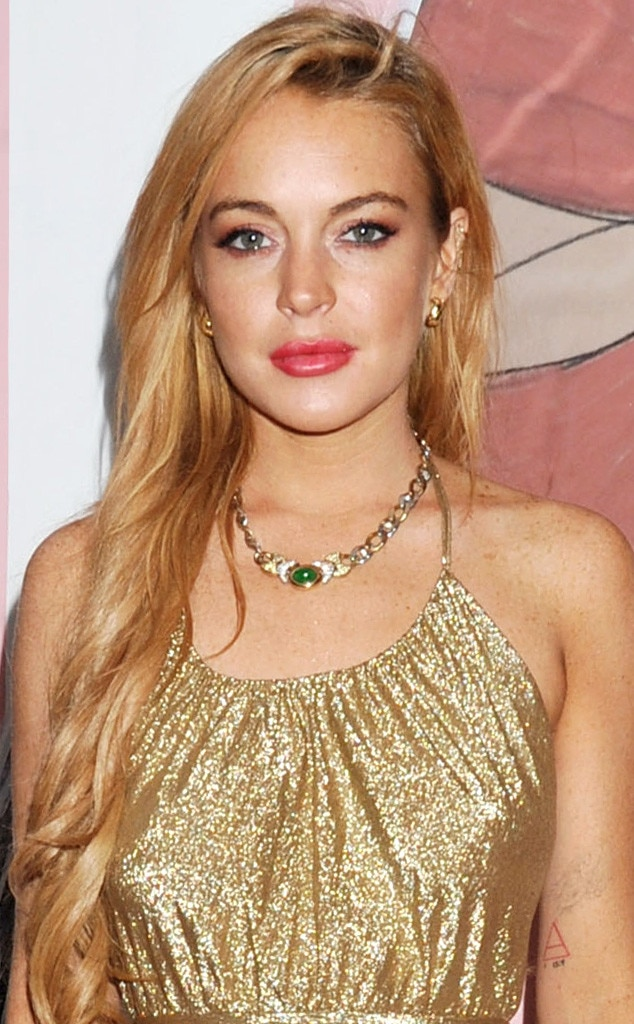 Inside Lindsay Lohan's Late Night Out at Art Basel Party ... Lindsay Lohan