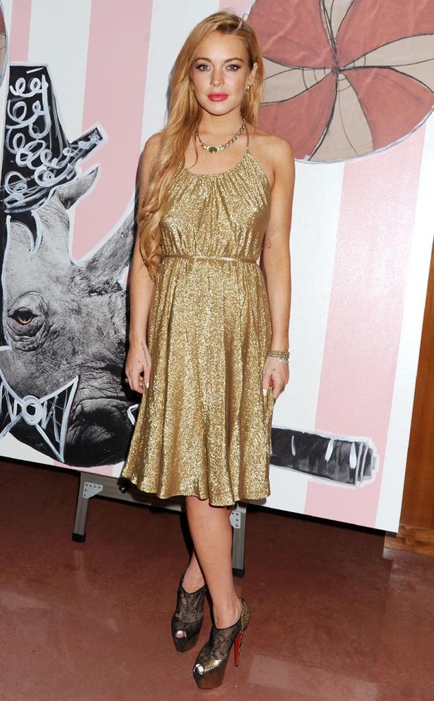Lindsay Lohan, Art Basel