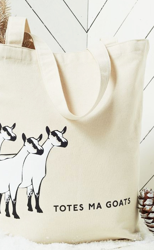 Last Minute Gift Guide, Totes Ma Goats