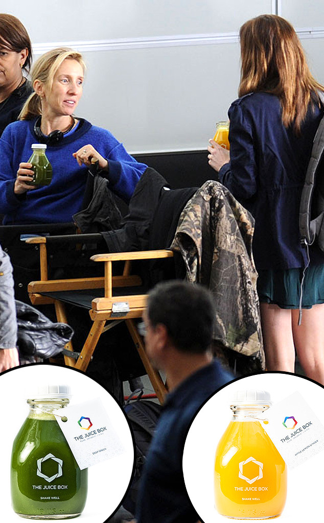 Dakota Johnson, Sam Taylor-Johnson, 50 Shades of Grey Set