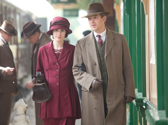 Michelle Dockery, Dan Stevens, Downton Abbey