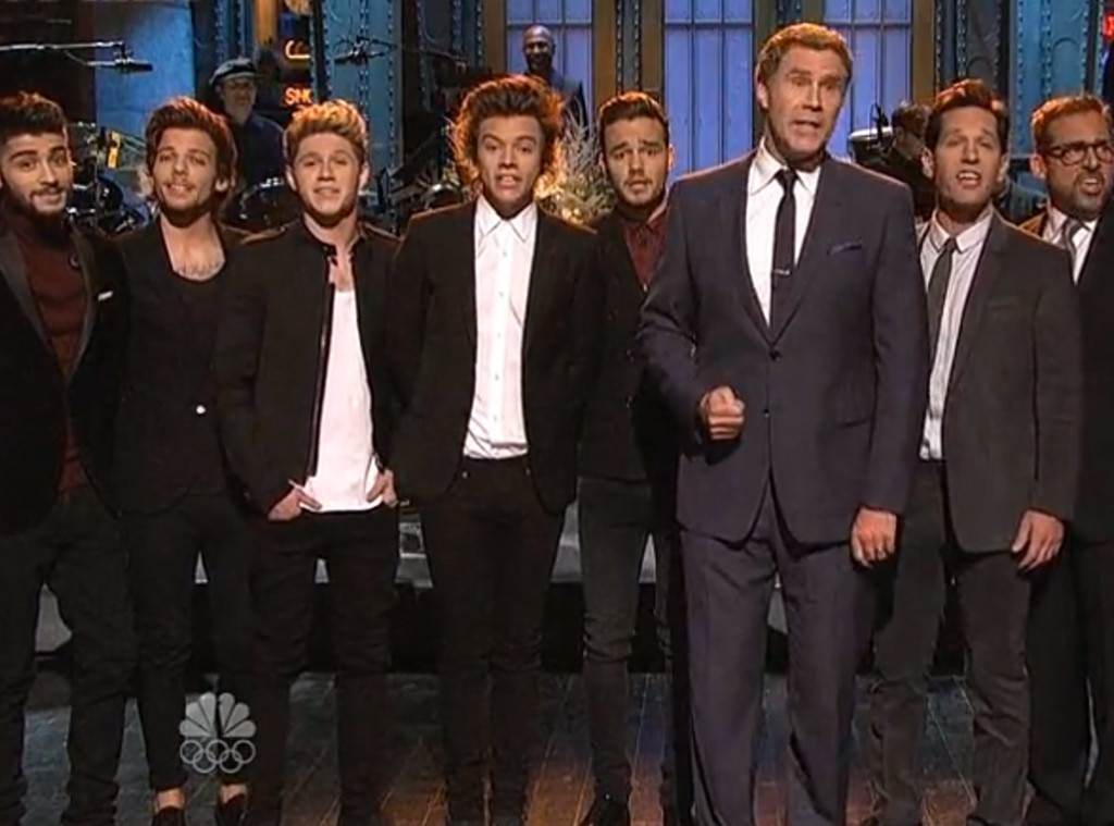 One Direction, Anchorman, Paul Rudd, SNL
