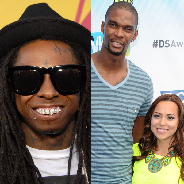Pics For > Adrienne Williams Bosh Lil Wayne