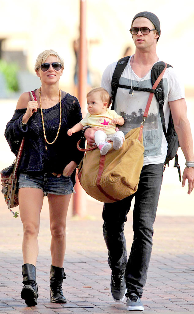 Chris Hemsworth, Elsa Pataky, India