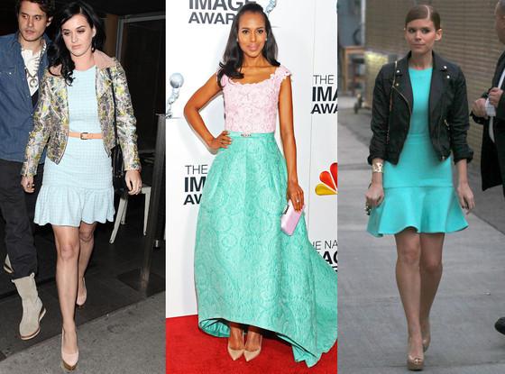 Katy Perry, Kerry Washington, Kate Mara