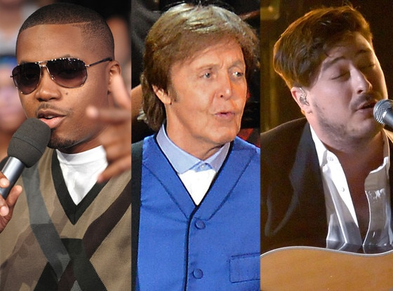 Mumford and Sons, Nas, Paul McCartney