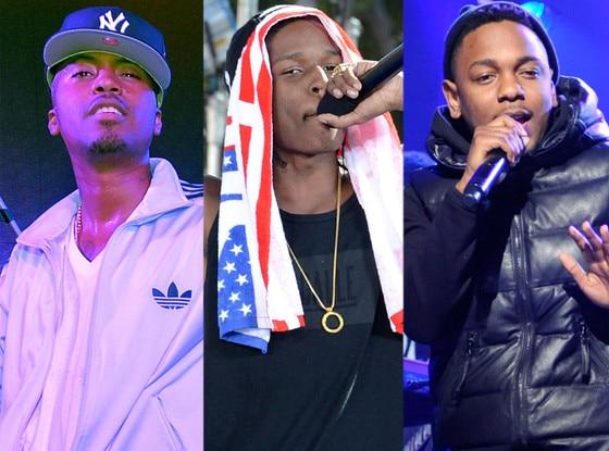 Nas, Kendrick Lamar, ASAP Rocky