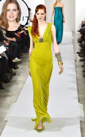 Amy Adams, Oscar de la renta Model