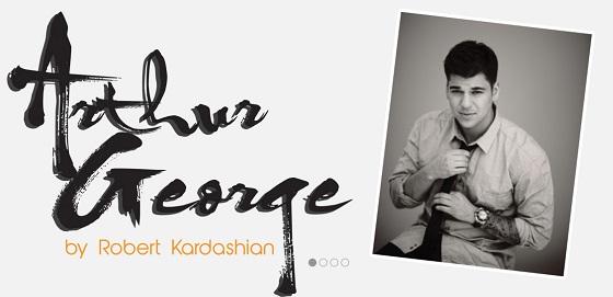 Rob Kardashian Arthur George