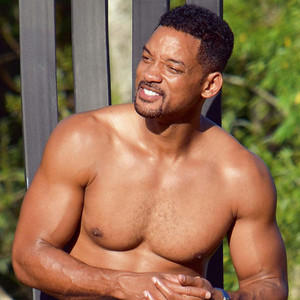 Shirtless Will Smith Shows Off Six-Pack Abs and Buff Arms ...  Shirtless Will ...