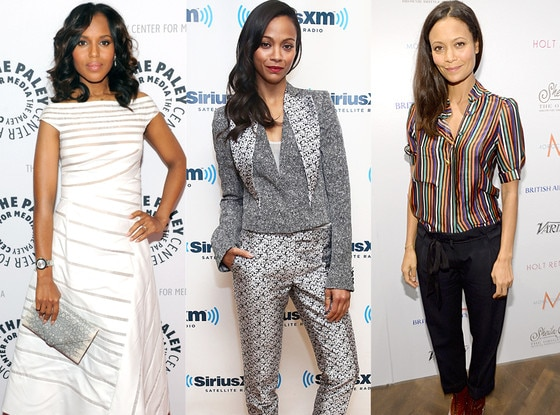 Kerry Washington, Zoe Saldana, Thandie Newton