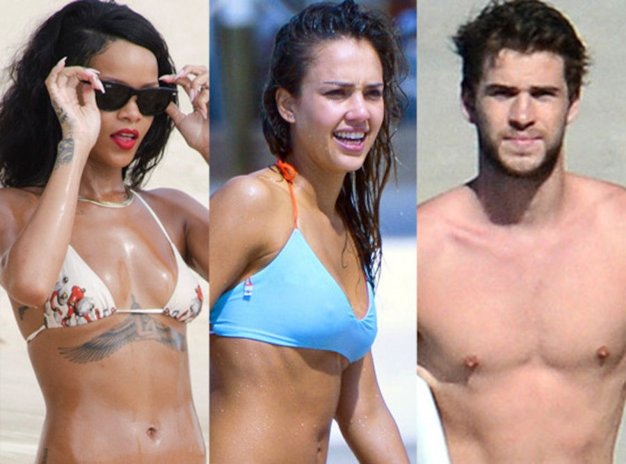 Rihanna, Liam Hemsworth, Liam Hemsworth
