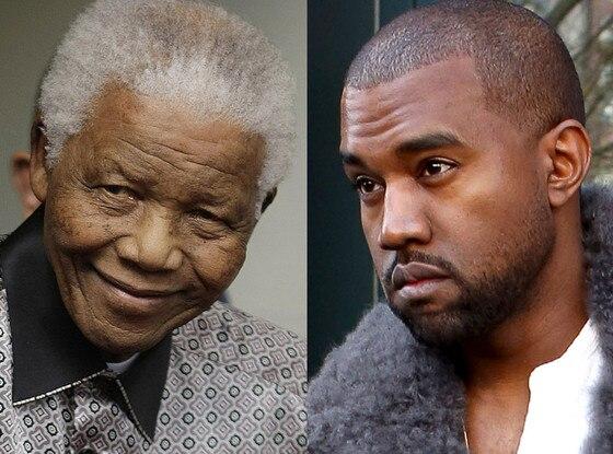 Kanye West, Nelson Mandela