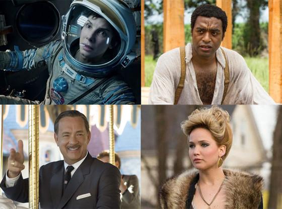 AFI Best Movies, Gravity, American Hustle, Saving Mr. Banks, 12 Years a Slave