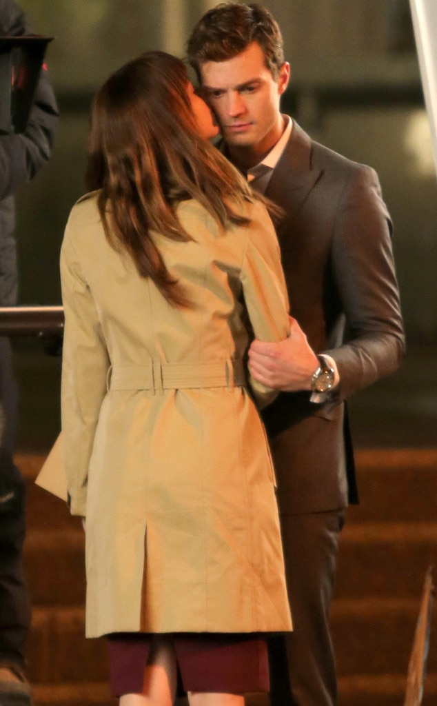 Dakota Johnson, Jamie Dornan, 50 Shade of Grey