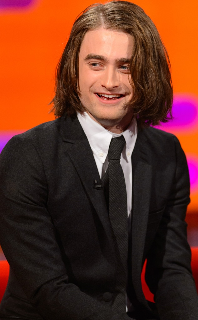 Daniel radcliffe reveals new hair extensions for upcoming daniel radcliffe pmusecretfo Choice Image