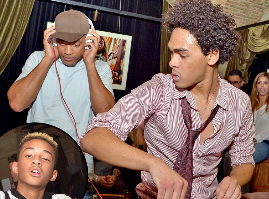Jaden Smith, Will Smith, Trey Smith