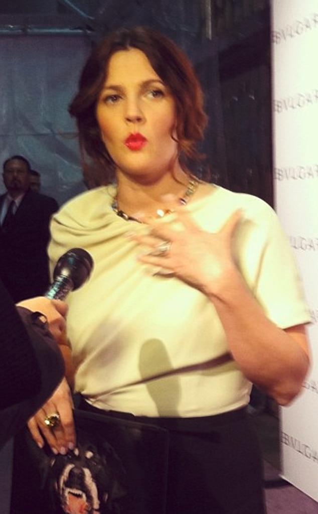 Malkin Twit Pic, Drew Barrymore