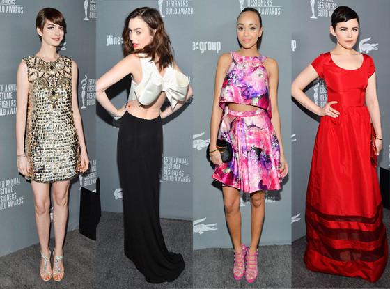 Anne Hathaway, Lily Collins, Ashley Madekwe, Ginnifer Goodwin