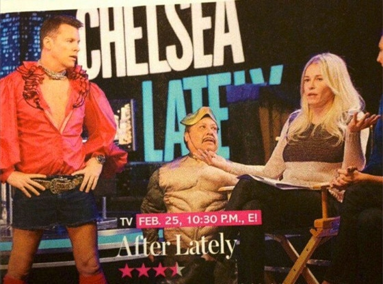 Chelsea Lately Staff, Twitter Pics