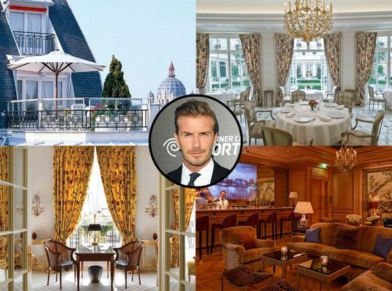 Hotel Le Bristol, David Beckham